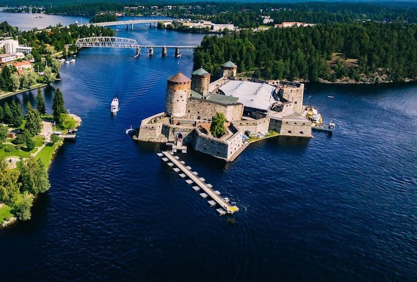 قلعه اولوینینا | فنلاند