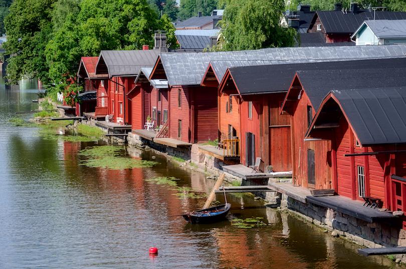 شهر قدیمی پوروو | فنلاند