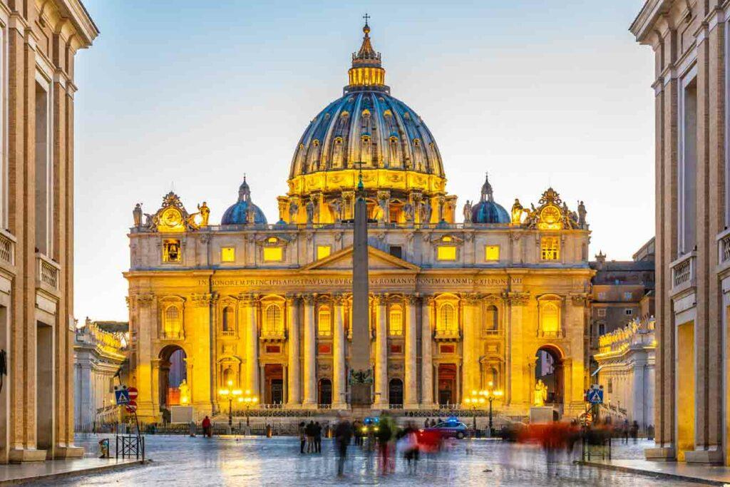 کلیسای سنت پیتر رم | ایتالیا