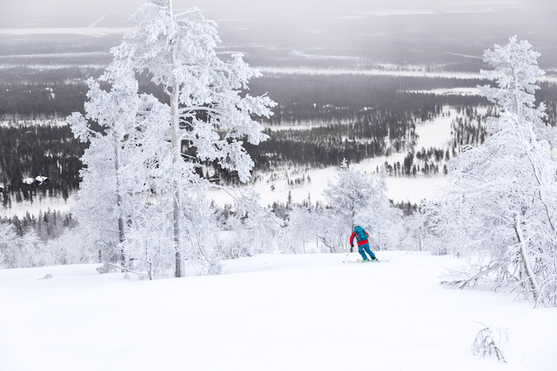 اسکی در لوی | جا های دیدنی فنلاند