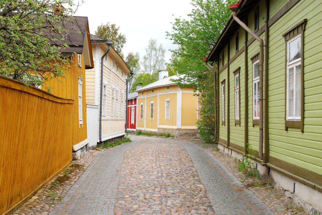 شهر قدیمی راوما | فنلاند