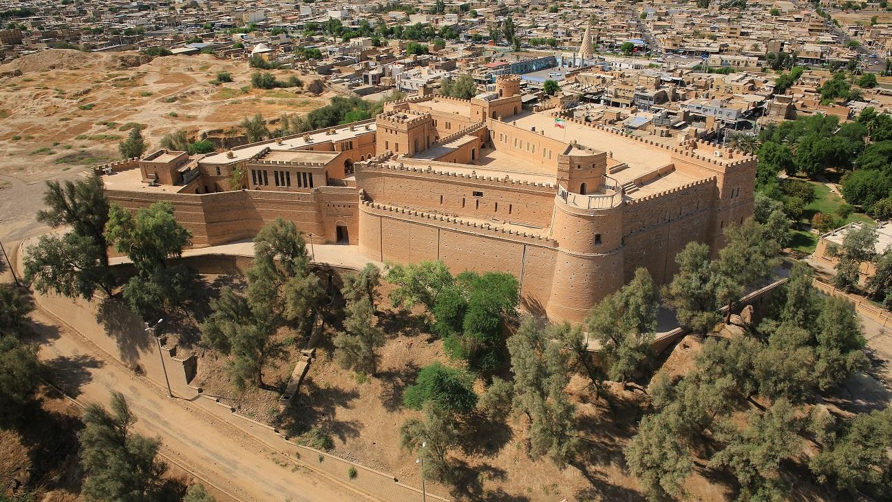 قلعه شهر شوش