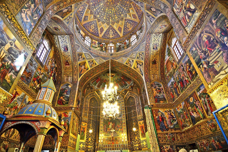 دوباره سفر - اصفهان - کلیسا وانک
