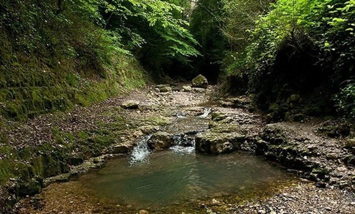 آبشار سنگ نو بهشهر مازندران