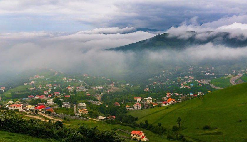 روستای ویلا دره یا بیله درق سرعین