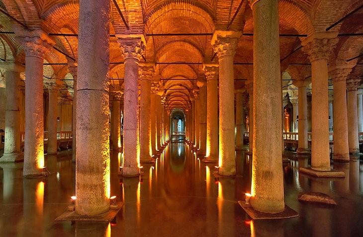 جاهای دیدنی استانبول – آب انبار باسیلیکا