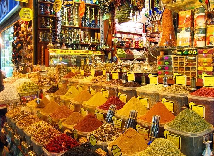 جاهای دیدنی استانبول – بازار ادویه