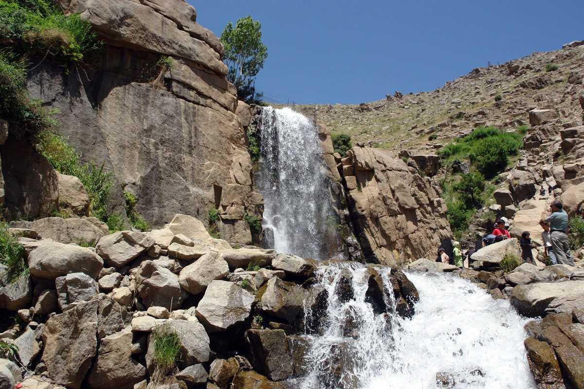 گردشگری خلخال اردبیل ، آبشار نره گر
