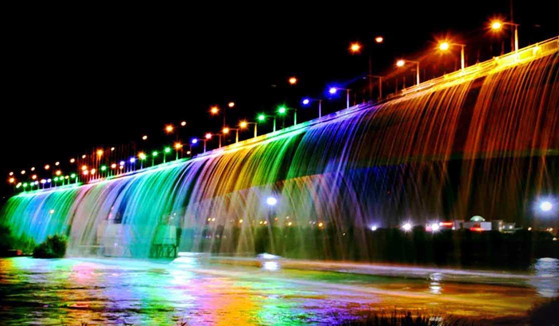 جاذبه های دیدنی اهواز، آبشار مصنوعی