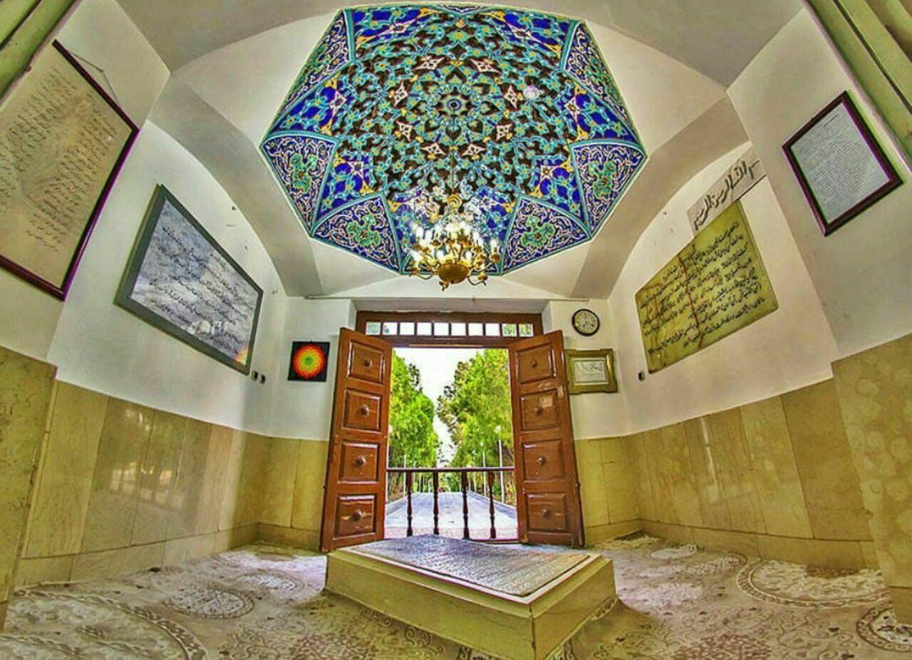 جنگل ابر شاهرود، آرامگاه شیخ ابوالحسن خرقانی