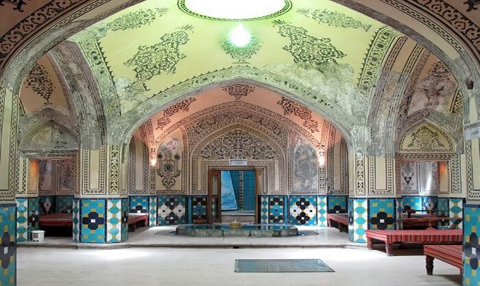 حمام مهدی قلی بیک ،،جاذبه های تاریخی شهر مشهد