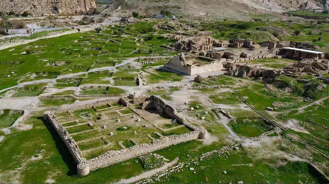 شهر تاريخی بيشاپور کازرون