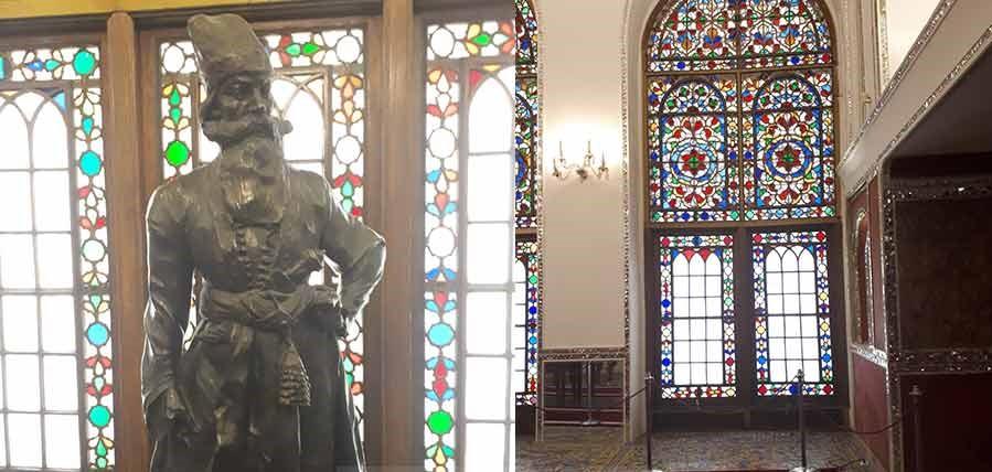 کاخ گلستان، تالار الماس