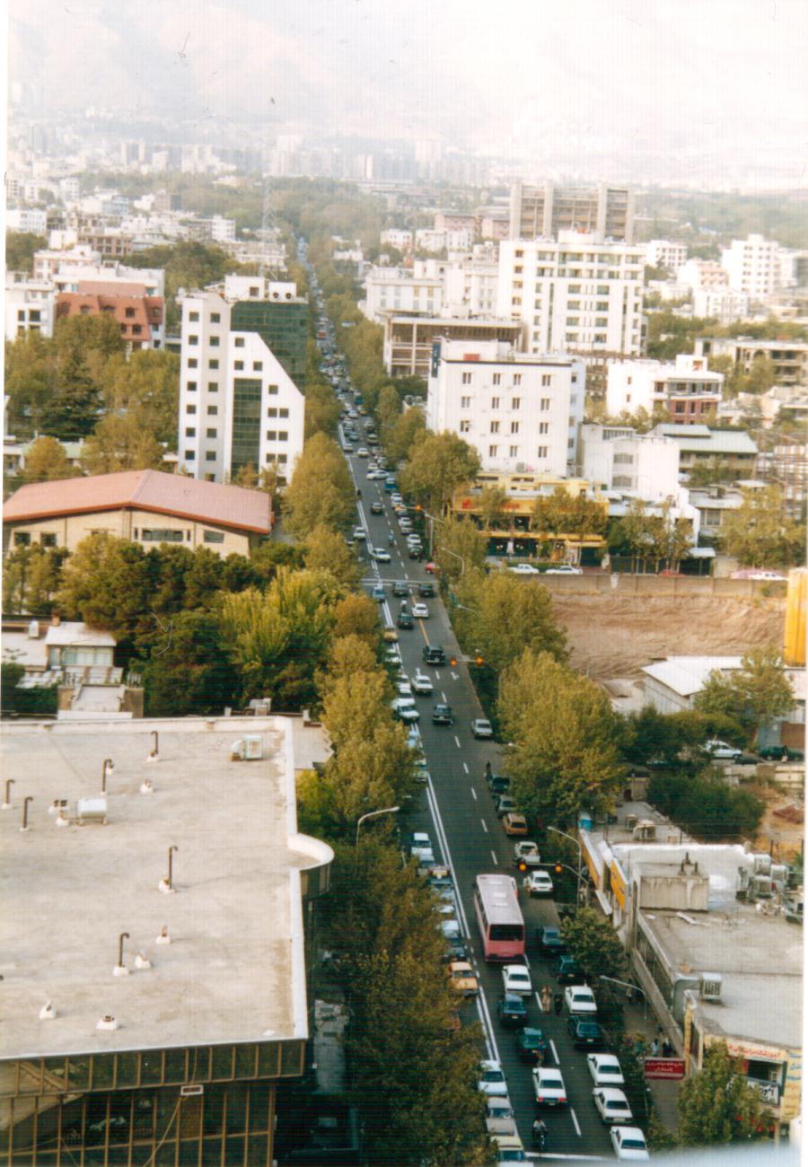 خیابان پاسداران تهران