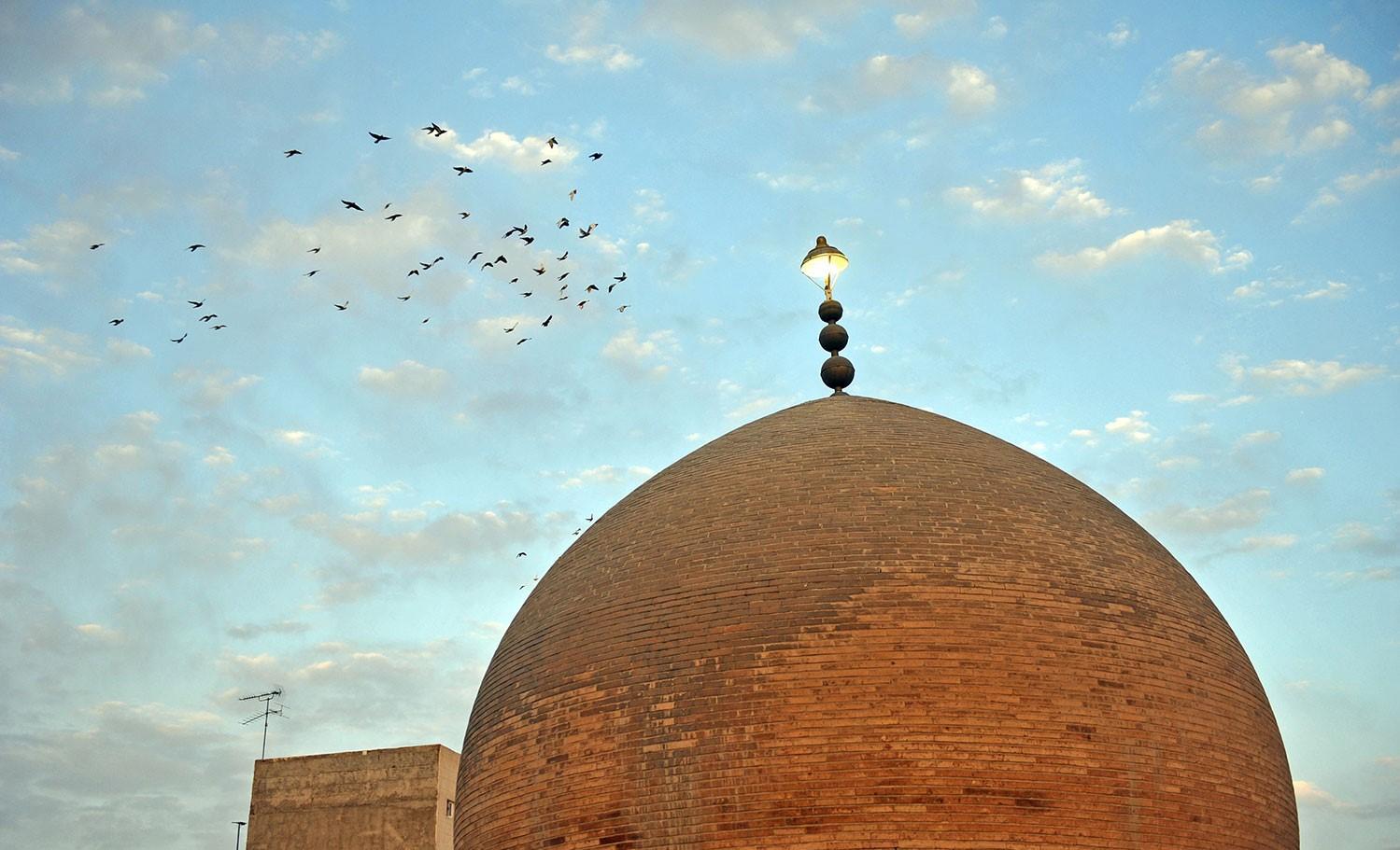 گنبد خشتی ،،جاذبه های تاریخی شهر مشهد