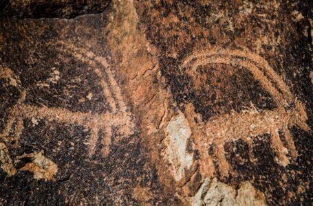 سنگ نگارههای کوه ارنان یزد
