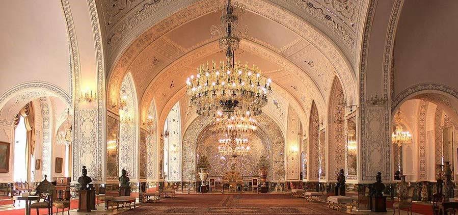 کاخ گلستان، تالار سلام