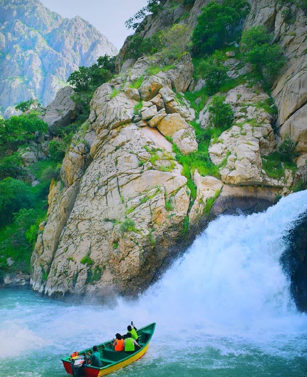 آبشار بل ،جاذبه گردشگری آبشار بل اورامان کردستان
