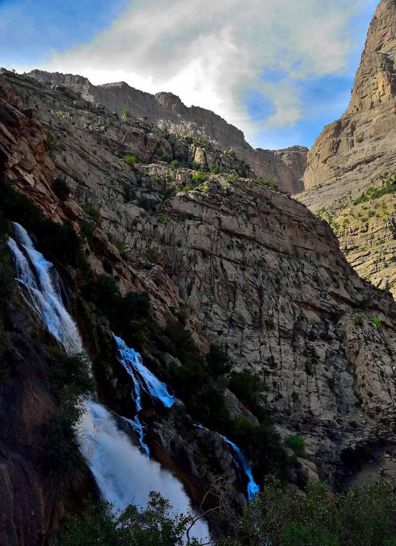 آبشار تنگ زندان لردگان