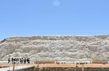 جاذبه گردشگری آبشار نمکی پتاس ، اصفهان