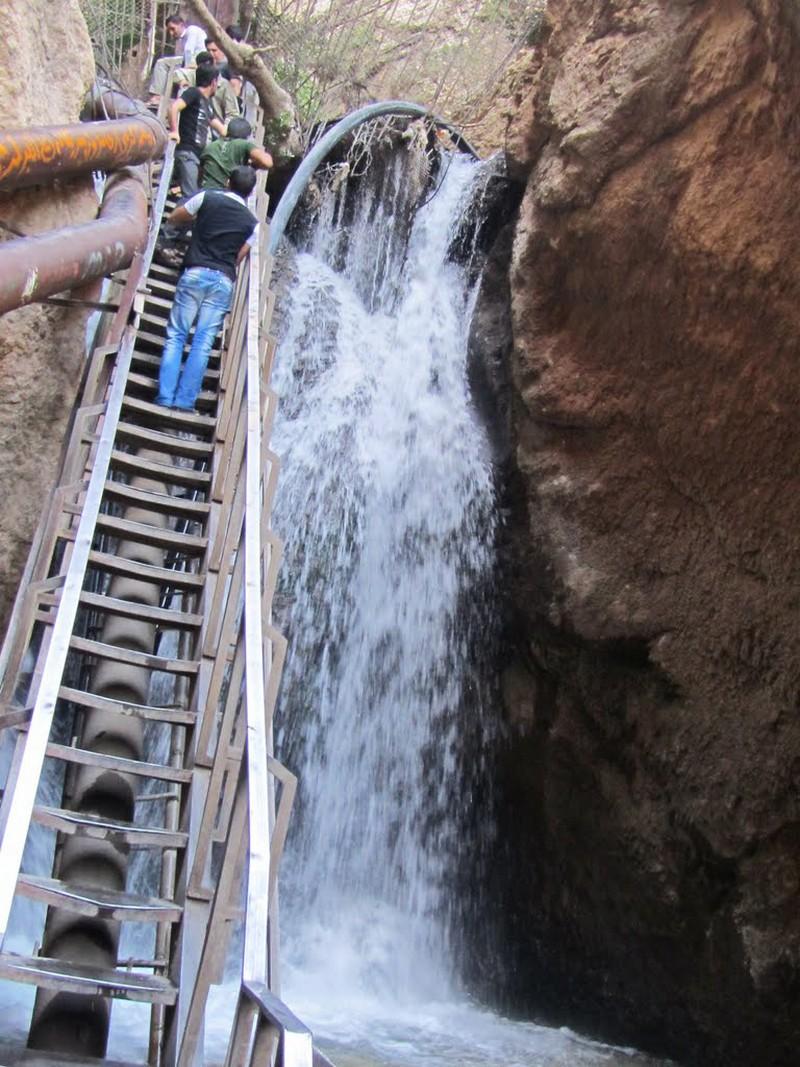 آبشار یاسوج ،جاذبه های گردشگری كهگیلويه و بويراحمد