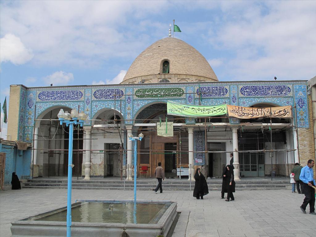 امامزاده حلیمه و حکیمه خاتون شهرکرد
