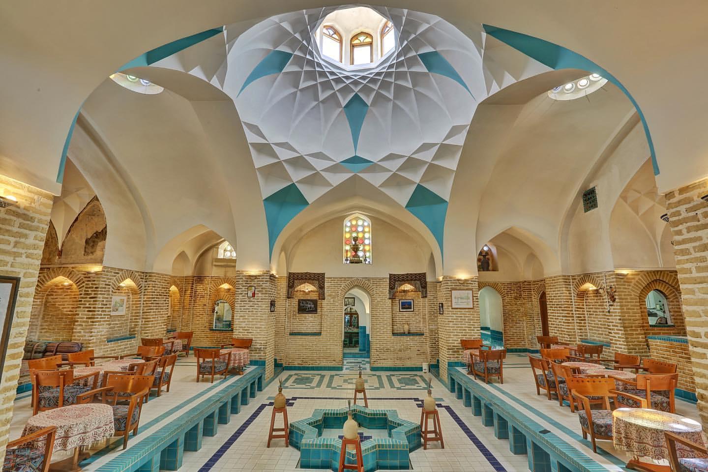 حمام بازار خان، جاذبه گردشگری بازار های تاریخی شهر یزد
