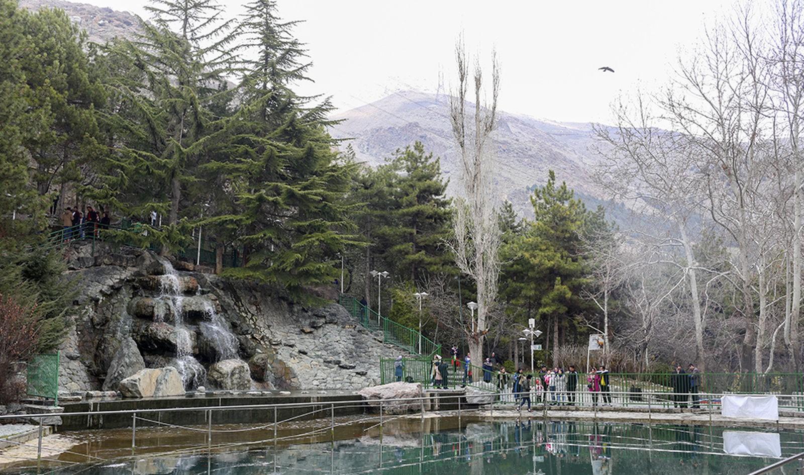 جاذبه تفریحی بوستان جمشیدیه تهران