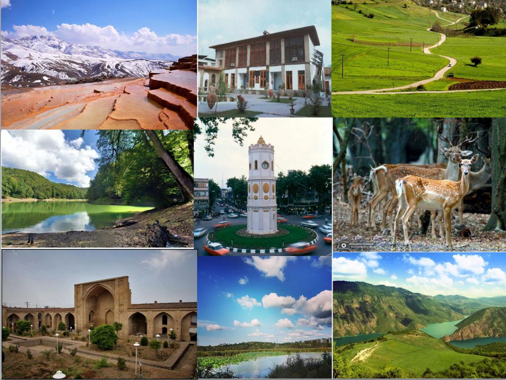 جاذبه های دیدنی و گردشگری شهر ساری