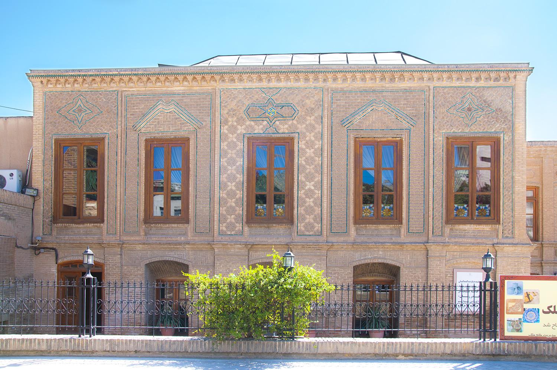 خانه ملک مشهد جاذبه های تاریخی شهر مشهد
