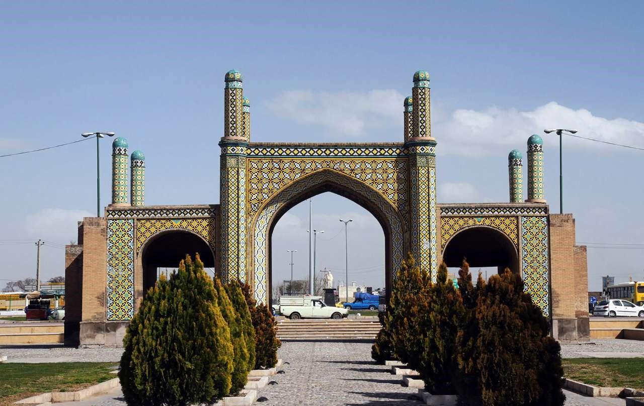 دروازه تهران قدیم قزوین 2