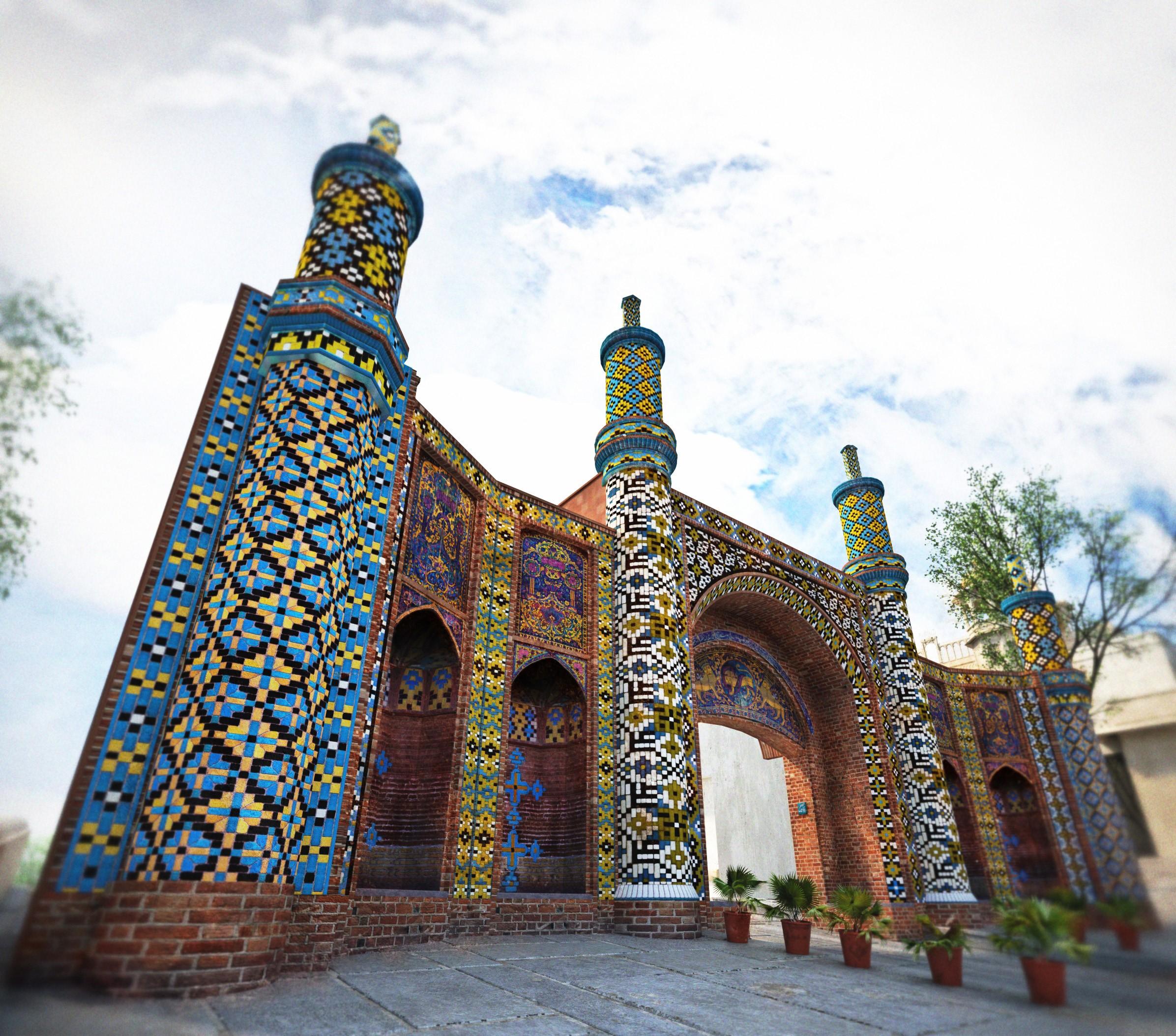 دروازه تهران قدیم قزوین