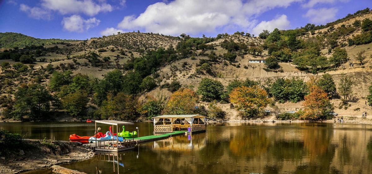 دریاچه شورمست سوادکوه، آبشار اسکلیم