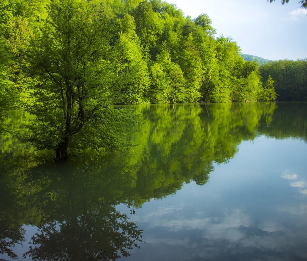 دریاچه چورت ساری ، مازندران