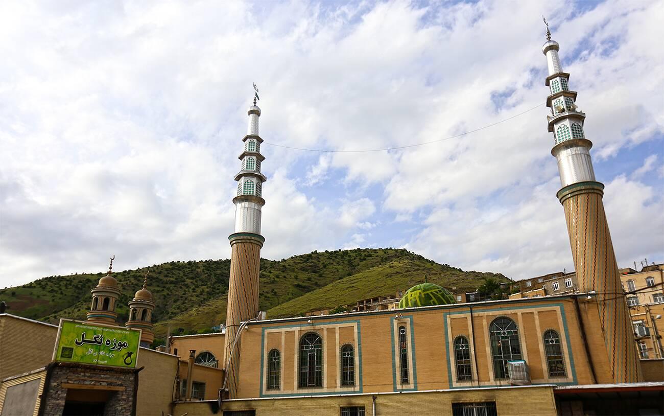 مسجد ،موزه روستای نگل
