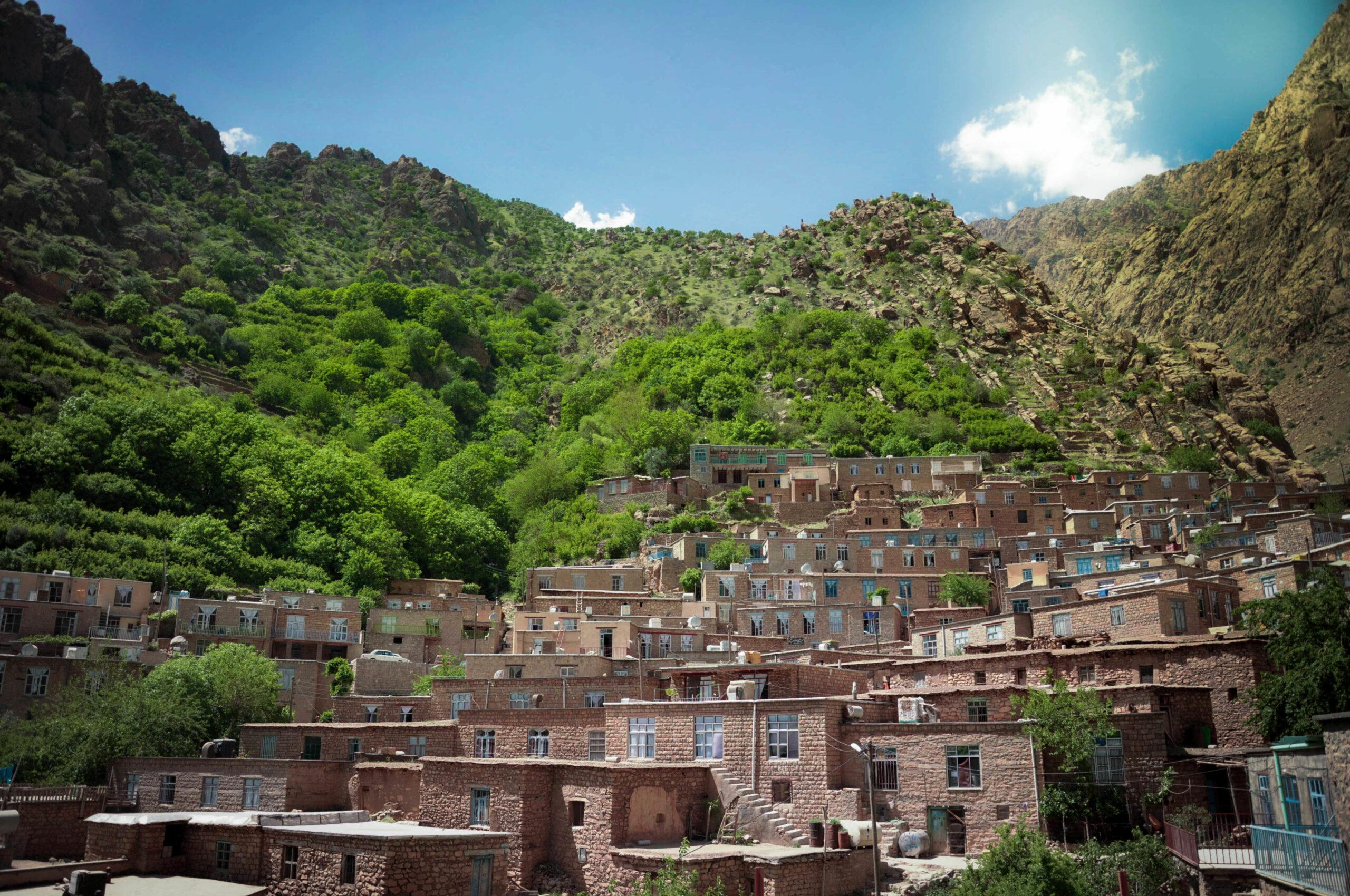 جاذبه گردشگری روستای نگل سنندج استان کردستان