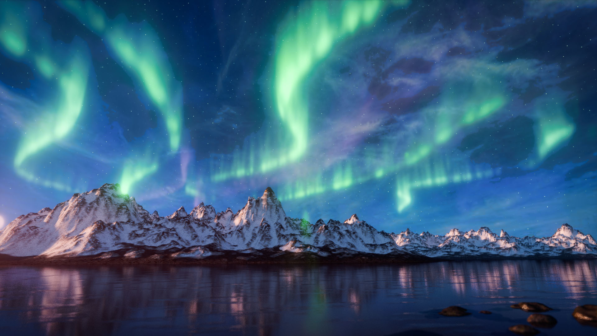 شفق های قطبی ایسلند