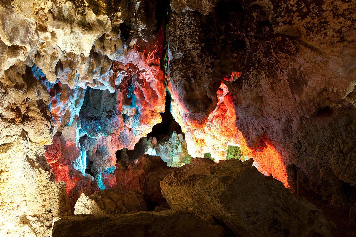 غار شاه بلبل محلات