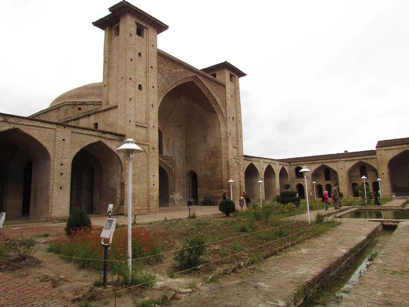 مسجد جامع شاه عباسی، ساری