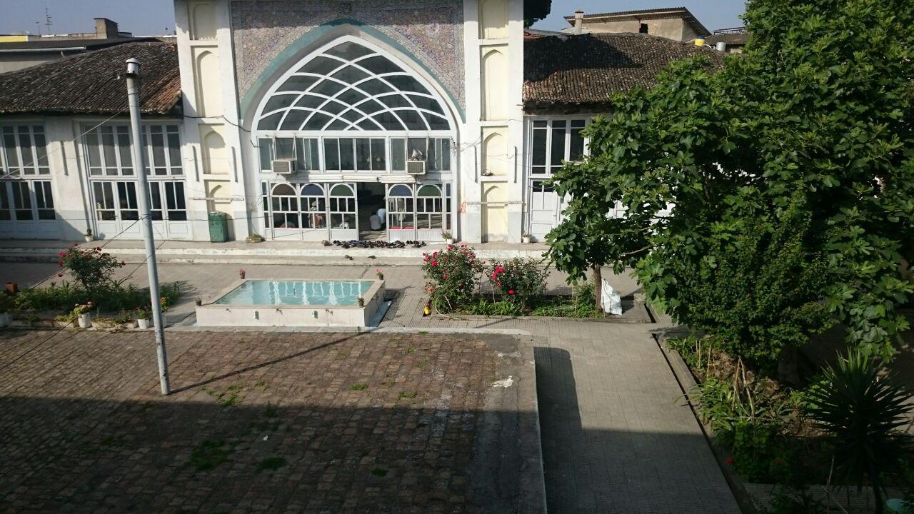 مسجد حاج مصطفی خان ، ساری