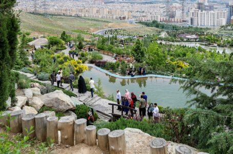 جاذبه گردشگری پارک آبشار تهران