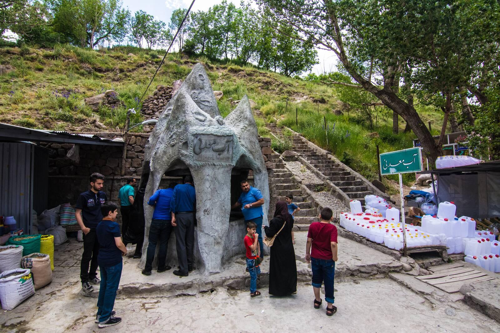 چشمه آب معدنی کندوان ، گردشگری و دیدنی آذربایجان شرقی