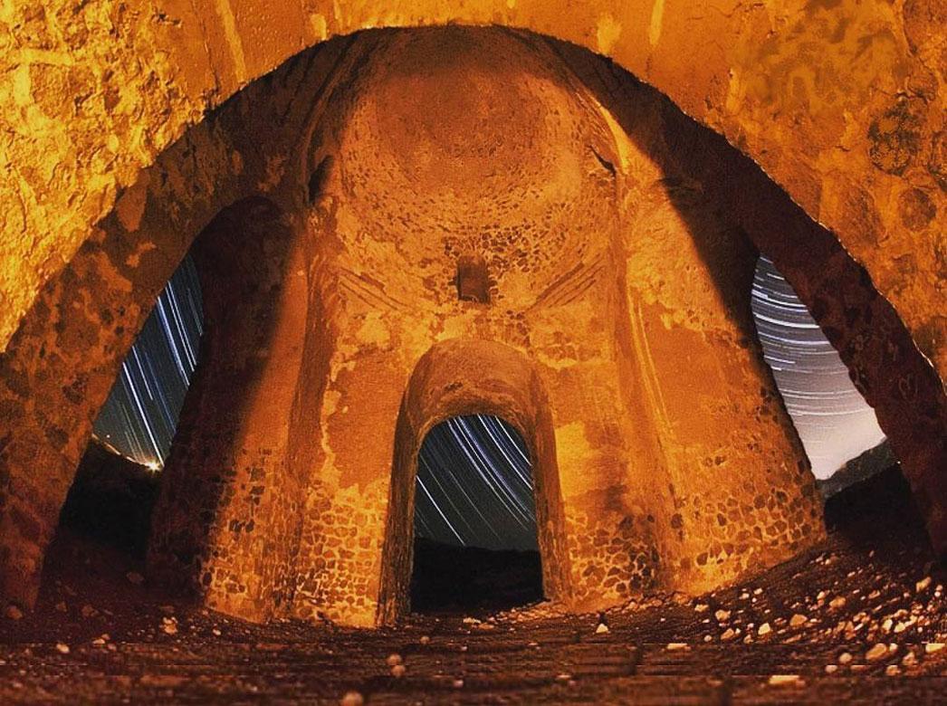 چهار طاقی بازه هور ،جاذبه های تاریخی شهر مشهد