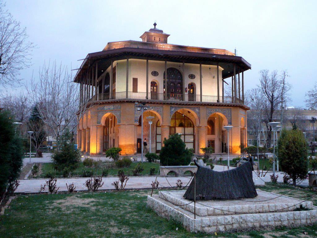 کاخ چهلستون قزوین 1