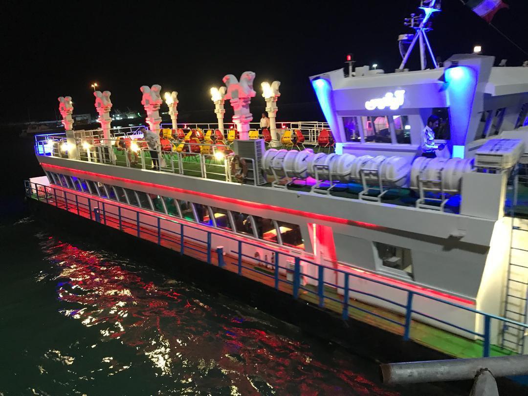 کشتی تفریحی کیش