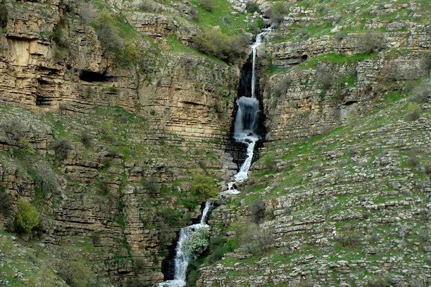 جاهای دیدنی شهر پاوه | آبشار دربیر
