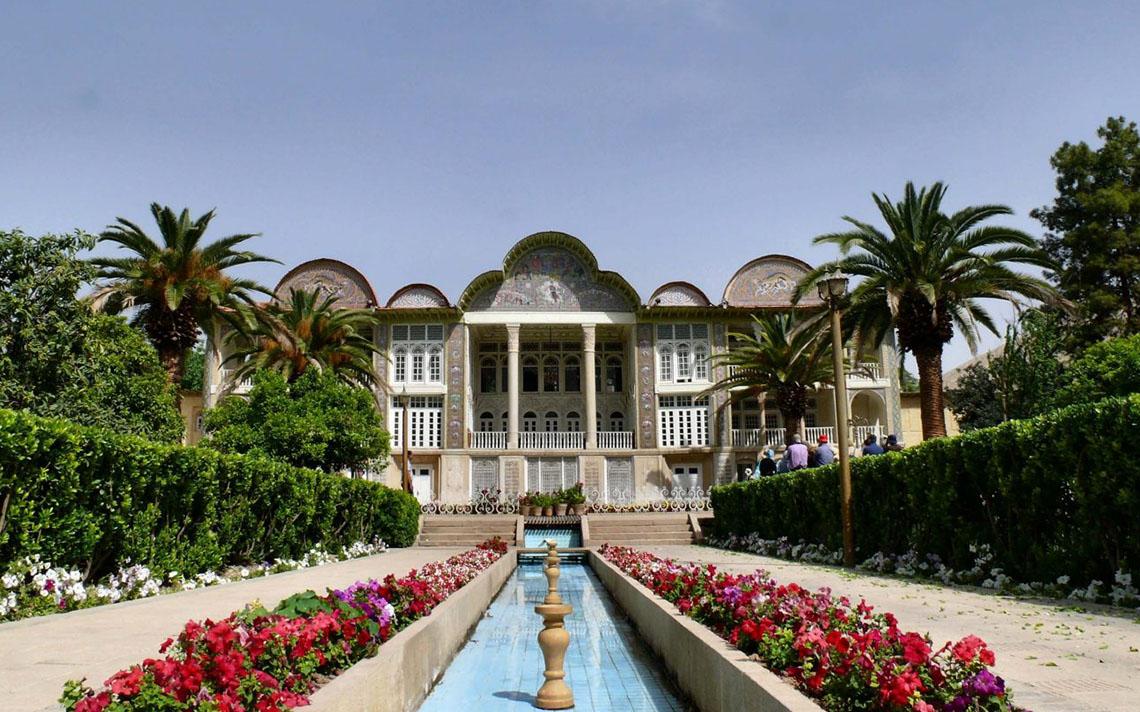 جاذبه گردشگری باغ ارم شیراز