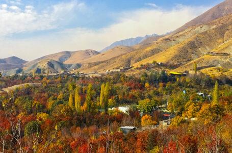 معرفی جاذبه گردشگری روستای افجه استان تهران