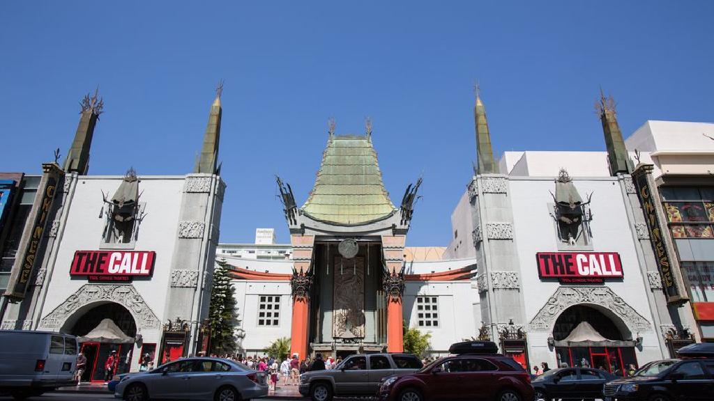 جاهای دیدنی کالیفرنیا   سینمای تئاتر چینی گراومن