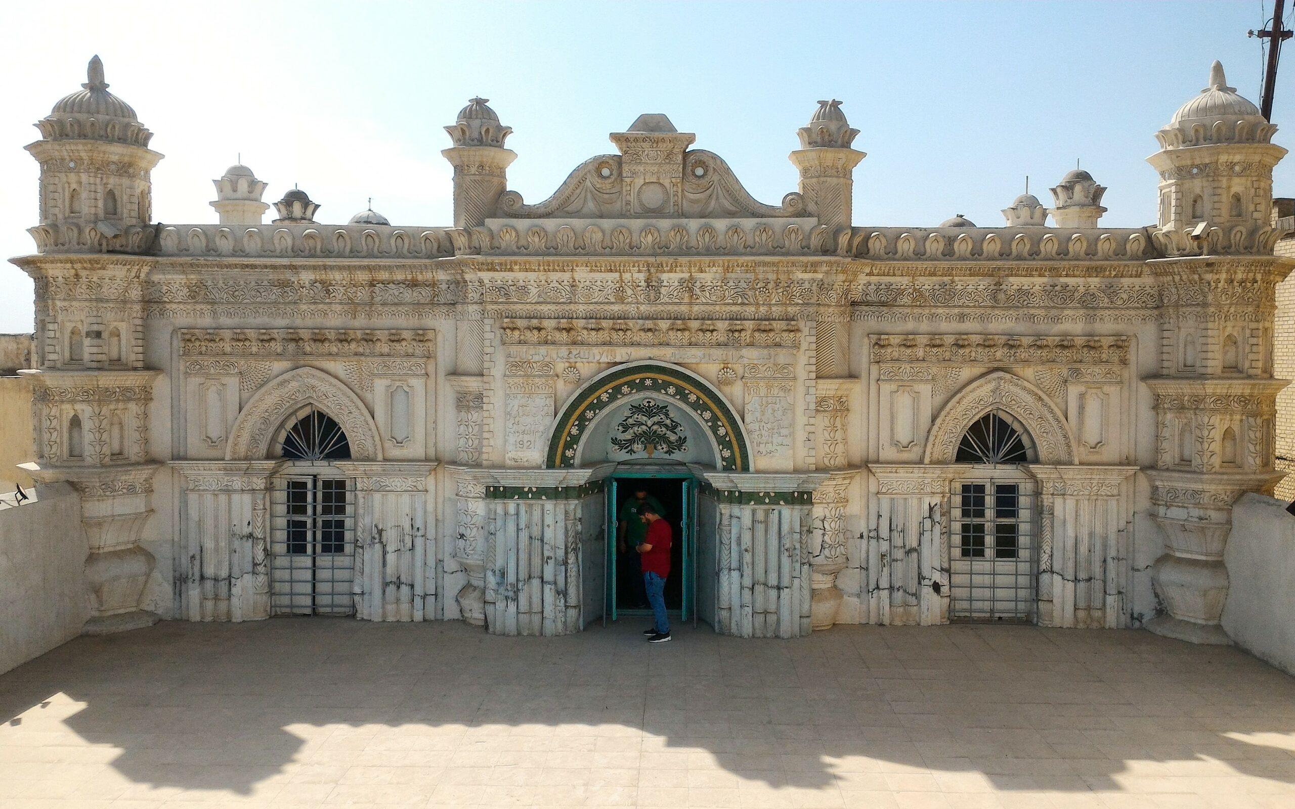 مسجد رنگونی ها ،جاذبه های گردشگری آبادان